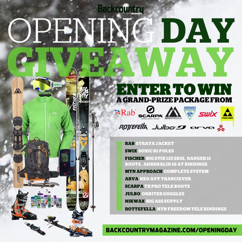 MTNApproach Giveaway